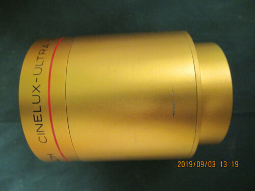 Schneider 130mm  Cinelux Ultra 35 / 70mm Cine Projector lens Used
