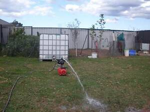 1000 Litre water tank with water pump Bringelly Camden Area Preview