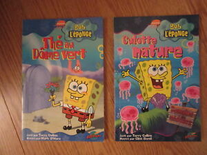 Sponge Bob French Chapter Books