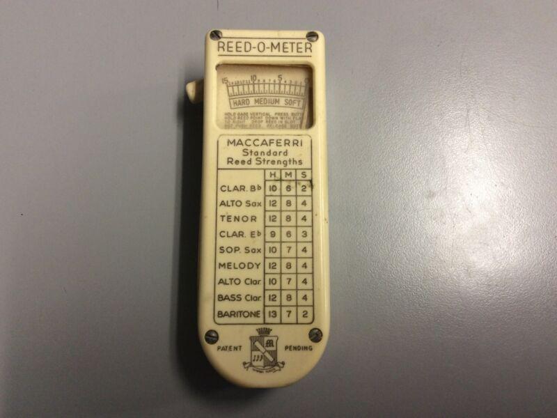 Vinatge Maccaferri Reed-O-Meter