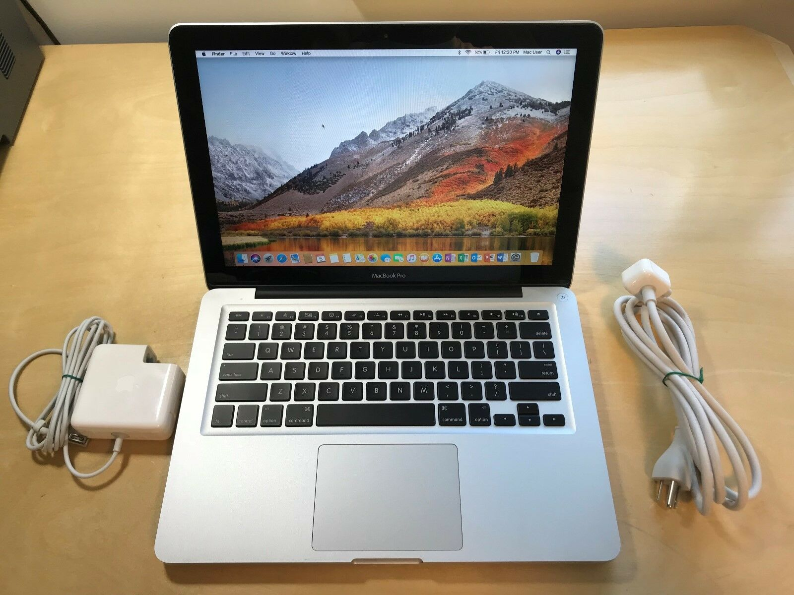 "Apple Silver MacBook Pro13""  500GB HDD/ Intel i5/16GB RAM/MacOS High Sierra 2017"