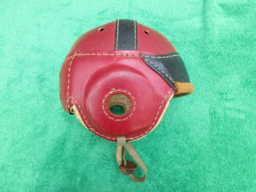 Rare Vintage Antique Hutch H8 Football Helmet Small w/ Strap Good Condition