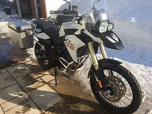 BMW 800GS 2013 fully loaded