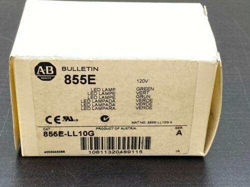 NEW Allen-Bradley 855E-LL10G Replacement Lamp, Size: 50mm, LED Socket  GREEN
