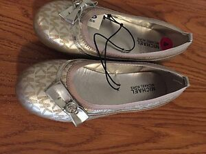 BRAND NEW GIRLS MICHAEL KORS DRESS SHOES SIZE 4