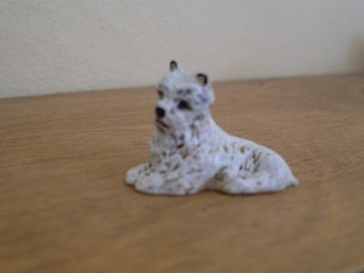 Dollshouse Miniature   ~ WHITE TERRIER #1 ~  Dog