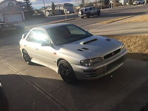 1998 Subaru gc8 sti version 4 (rhd)
