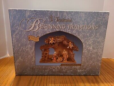 FONTANINI WEDDING GIFT NATIVITY SET BY ROMAN