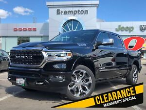 2019 Ram All-New 1500 LIMITED*DEMO*LEVEL 1*3.92 AXLE*DUAL PANO*R