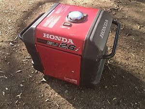 HONDA GENERATOR  Inverter EU 26i Bellbowrie Brisbane North West Preview