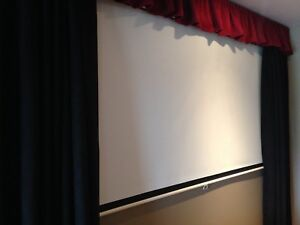 Like New Home Theatre Curtains