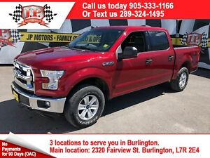 2017 Ford F-150 XLT, Crew Cab, Automatic, Back Up Camera, 4x4