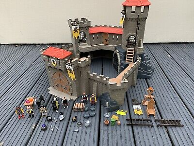 Playmobil Lion Knights Castle 4865 With Figures & Accessories