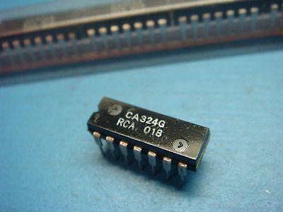 (25) RCA CA324G QUAD OP AMP ±16V/32V 14-PIN PLASTIC DIP LM324N