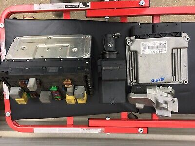 MERCEDES VITO W639 2.2 Ignition ECU Kit ECU,LOCK , Box And Key , A646-153-24-91