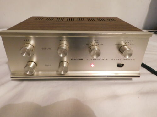 Claricon Stereo Selector solid state amplifier amp Model 36-145