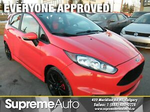 2015 Ford Fiesta ST 6-SPEED NAVI/H.SEATS/S.ROOF