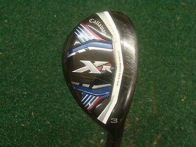 Callaway XR hybrid #3 RH 19* Project X 5.5 regular flex w/cover SEE PICS