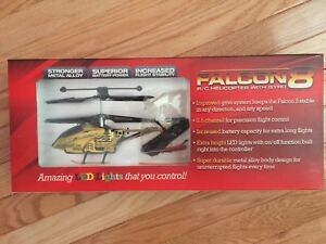 Falcon 8 R/C helicopter with gyro