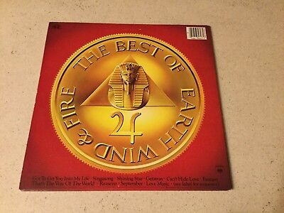 EARTH WIND and FIRE LP The Best of Vol.1 1978 Columbia Very Good
