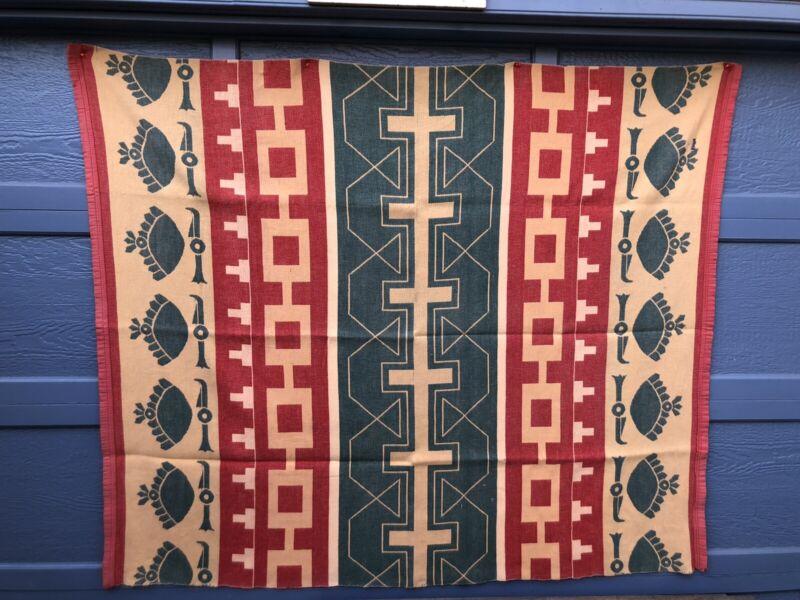 Antique Blanket Coverlet Throw Of Unknown Origin