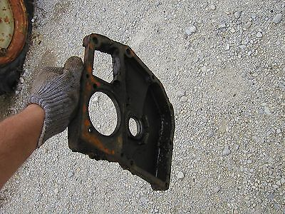 Oliver 70 Rowcrop Tractor Original Engine Motor Front Cover Panel Mount Bracket