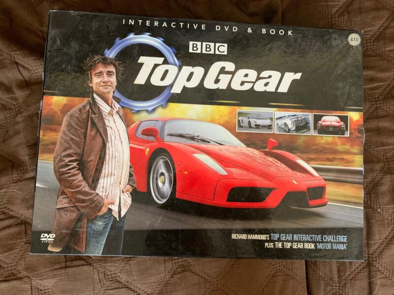 BBC+Top+Gear+Interactive+DVD+%26+Book+Set+Richard+Hammond+Interactive+Challenge