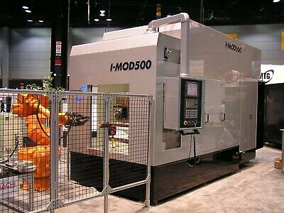 Ips Horizontal Milling Machine With Fanuc 18i Cnc