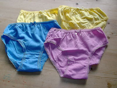 """F+F 4 Pairs 100%Cotton Briefs 3-4yrs 104cm W21"""" Assorted Colours BNWoT"""