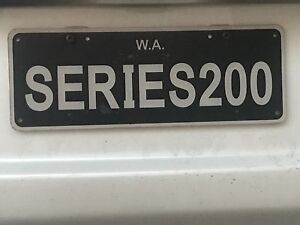 SERIES200 number plates Eden Hill Bassendean Area Preview