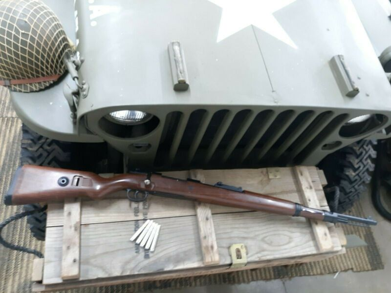 "Mauser Kar 98 ""98K"" Bolt Action Carbine WWII Airsoft Rifle Reenactors/Airsoft"