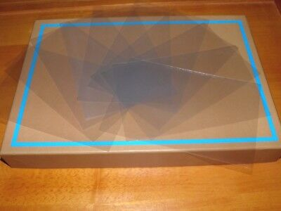 "PLEASE READ DESCRIPTION - 10 Postcard Sleeves Continentals ( 6"" x 4"" ) Plastic"