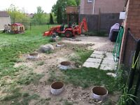 Fence posts, Deck Footings, Fences and Deck Builds