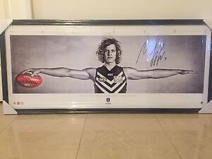 Nat Fyfe 'Wings' framed photograph (new) Mount Claremont Nedlands Area Preview