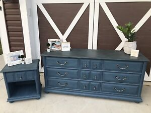 Beautiful Dresser and Nightstand