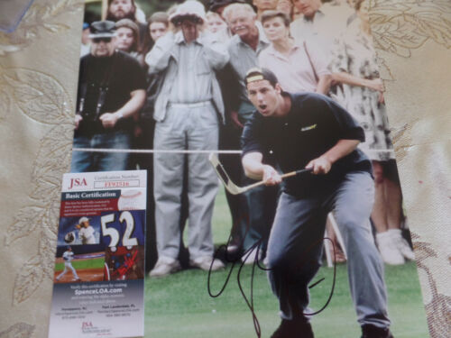 Adam Sandler  Autographed 11X14 Happy Gilmore  PHOTO  JSA Certified