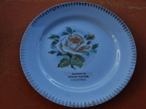 Antique Grand Rapids Wisconsin souvenir Plate