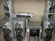 Panasonic DVD/CD stereo system - 7 speakers - 5 cd/dvd changer Coffs Harbour 2450 Coffs Harbour City Preview