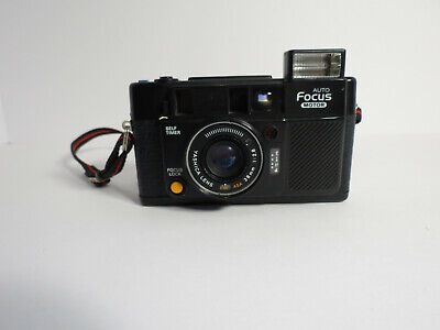 Yashica Auto Focus Motor Black Point and Shoot 35mm Film Camera F2.8