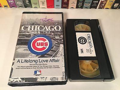* Chicago And The Cubs: A Lifelong Love Affair VHS 1987 Baseball Documentary