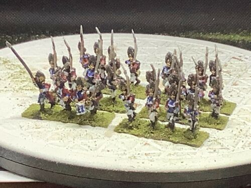15mm Handpainted AWI British Grendier Regiment (6x4 with Command)