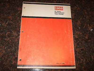 Case Fc Series Field Cultivator Parts Book Catalog Manual