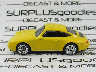 Hot Wheels 1:64 LOOSE 1996 '96 PORSCHE CARRERA Custom SUPER w/Real Riders Y#2