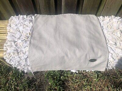 AUTHENTIC FENDI ROMA ITALIA DUST BAG POUCH., Metal Plaque Logo W/ Serial  #