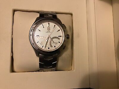 Tag Heuer Men's CAT7011.BA0952 'Link'  Calendar Stainless Steel Watch Brand New
