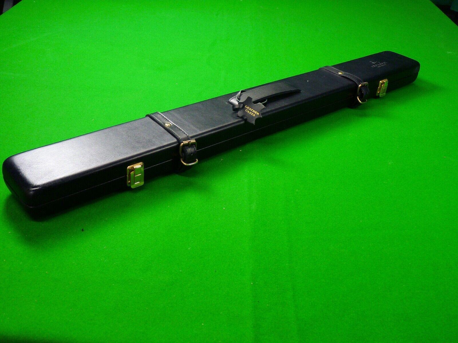 Peradon Leather 2 Piece Snooker Cue Case