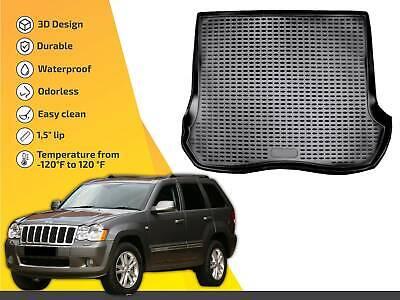 Cargo liner tray floor mat for Jeep Grand Cherokee 2005-2010 Deluxe Cargo Liner