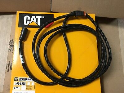 Caterpillar Wiring Harness assembly 168-8325 2 Pin male female Brand New