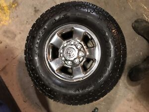 Stock 17 inch dodge rims 8x6.5