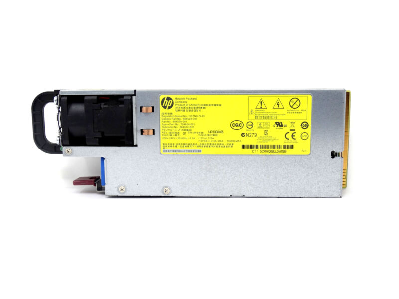 704604-001 HP 1500W Platinum Plus Power Supply HSTNS-PL33 684532-B21 684529-001